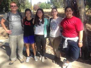 Las Positas College Biology Club volunteering